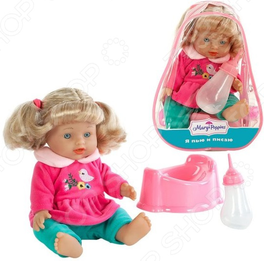 Кукла интерактивная Mary Poppins «Лизи: пью и писаю»