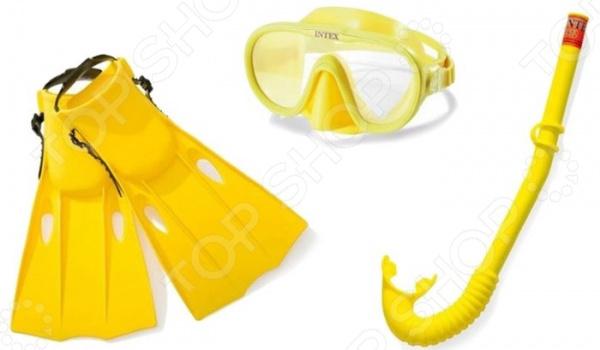Набор для ныряния: маска, трубка и ласты Intex «Мастер класс» цена