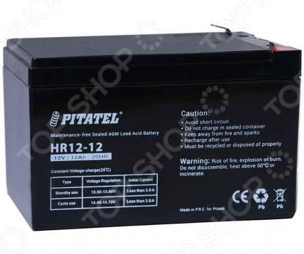 Аккумулятор для источника бесперебойного питания Pitatel HR12-12 кастрюля rondell mocco and latte 2 л rda 280