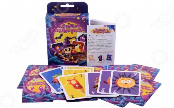 Игра карточная Magellan «Бон Пари. Улетные кошмарики»