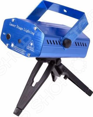 Лазерный проектор Neon-Night с эффектом цветомузыки проектор