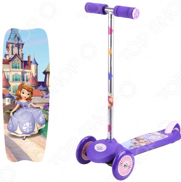 Самокат трехколесный Disney «София» Т59552