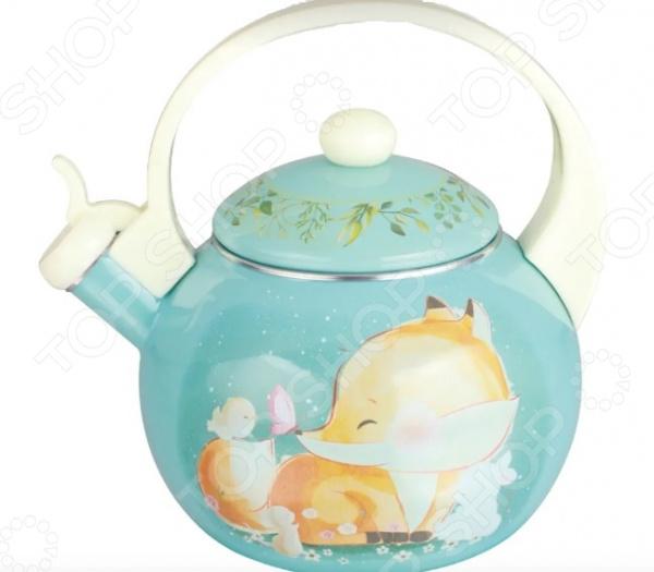 Чайник со свистком Kelli KL-4113