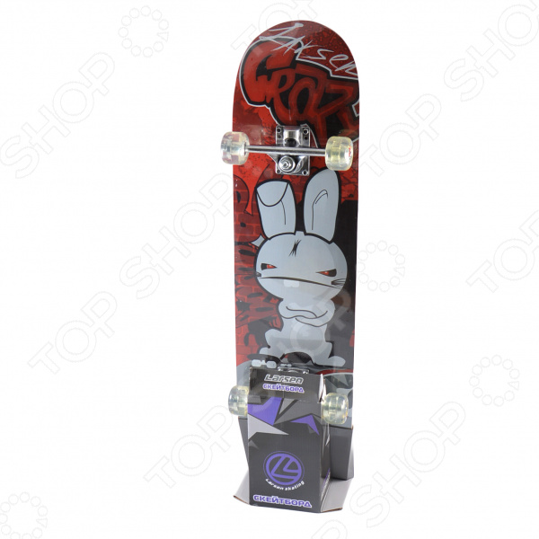 Скейтборд Larsen SB-1 скейтборд балансирующий larsen wave board черный голубой