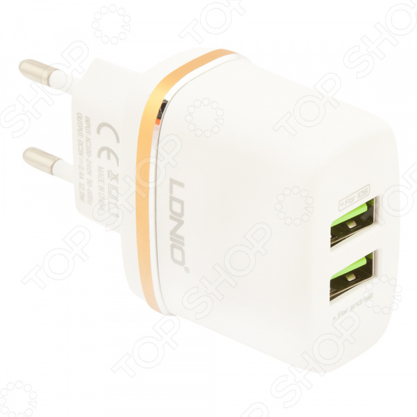 Устройство зарядное сетевое Ldnio Micro USB DL-AC52