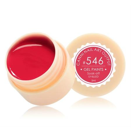 Купить Гель-краска для ногтей CANNI Nail Art Output №546