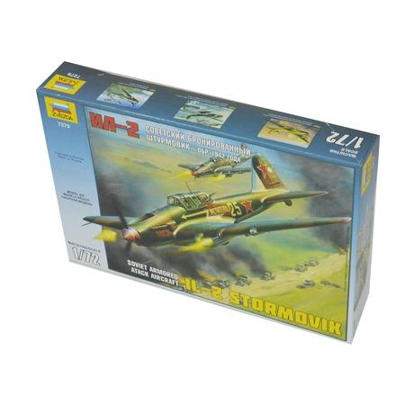 Купить Сборная модель Звезда Самолет «Ил-2» (1942 года)
