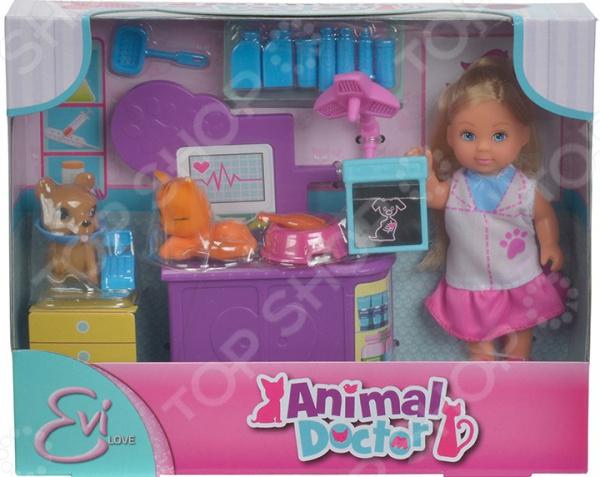 Набор игровой с куклой EVI «Ветеринар»