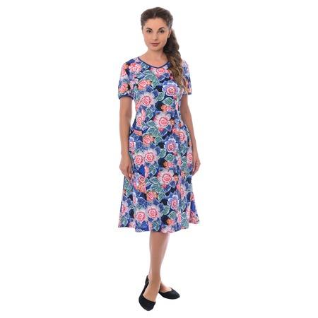 Купить Платье Алтекс «Мария». Рисунок: васильковый букет