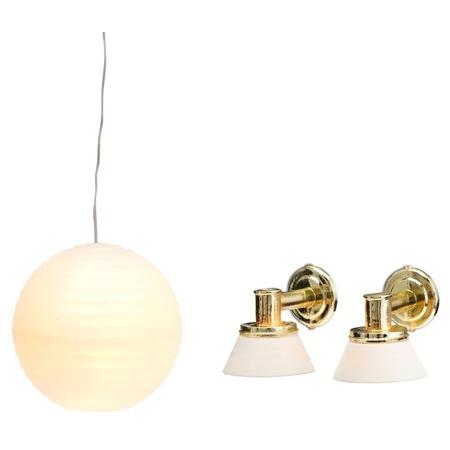 Купить Освещение для игрового домика Lundby «Люстра с абажуром и Бра»