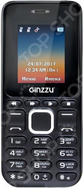 Мобильный телефон Ginzzu M102D аксессуар магнитоконтакт ginzzu hs s02w white беспроводной
