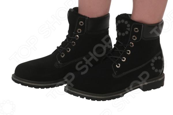Ботинки Mon Ami «Удобная походка». Цвет: черный