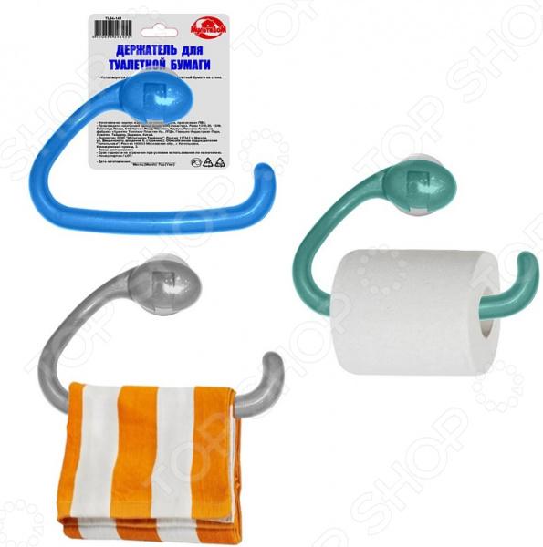 Держатель для туалетной бумаги Мультидом TL34-149. В ассортименте