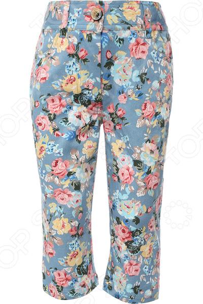 Брюки для девочки Finn Flare Kids KS16-71005. Цвет: светло-бирюзовый брюки джинсы и штанишки s'cool брюки для девочки hip hop 174059