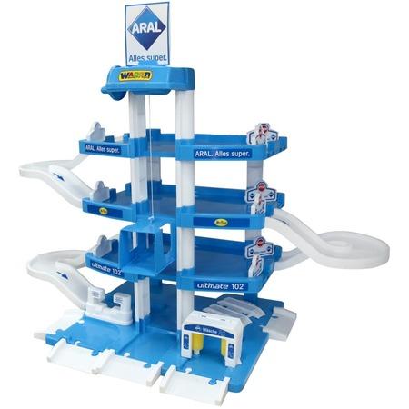 Купить Набор игровой для мальчика Wader Aral-2 «Паркинг 4-уровневый»