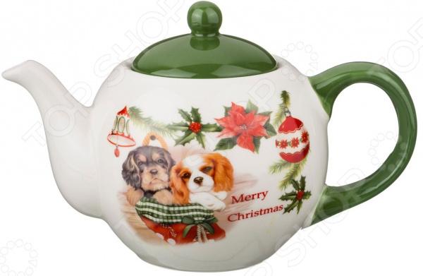Чайник заварочный Agness «Кокер-спаниели» 358-1204