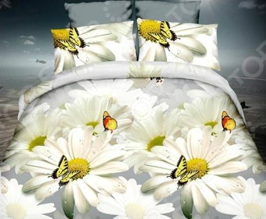 Комплект постельного белья Flora «Нежное прикосновение». 1,5-спальный