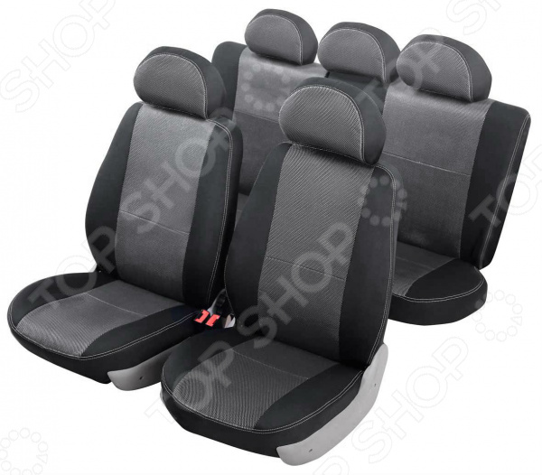 Набор чехлов для сидений Senator Dakkar Renault Sandero 2009-2014 слитный задний ряд
