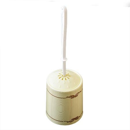 Купить Ёршик для туалета и подставка круглая Violet 1401/91 «Беленый дуб»