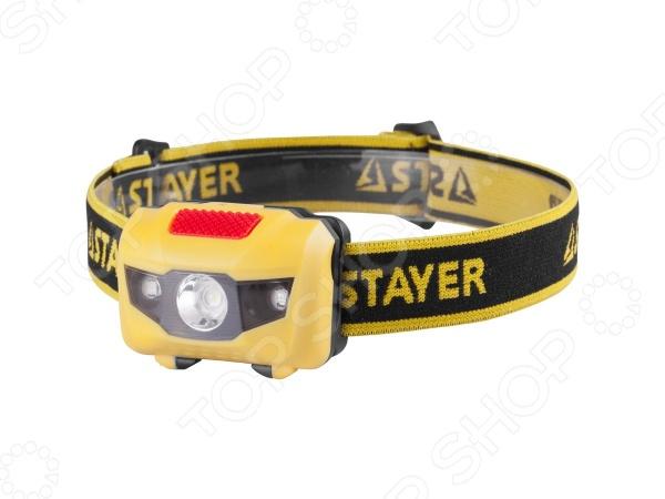 Фонарь налобный Stayer Master 56568