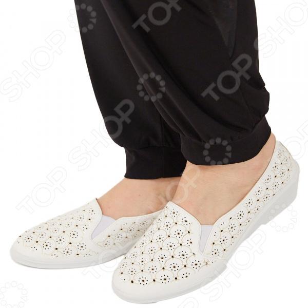 Туфли АЛМИ «Дорилея». Цвет: белый