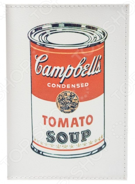 Обложка для паспорта кожаная Mitya Veselkov Tomato soup tomato soup oversized sweatshirt