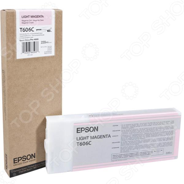 Картридж повышенной емкости Epson T606 для Stylus Pro 4880