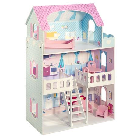Купить Домик с мебелью для куклы PAREMO Valerie Charm. Количество предметов: 6 шт