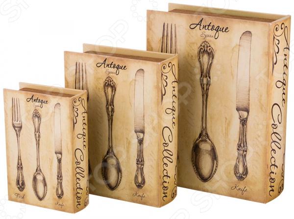 Комплект шкатулок-книг Lefard «Антик» 706-274