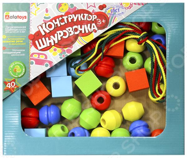 Конструктор для ребенка Alatoys «Шнуровочка 40»