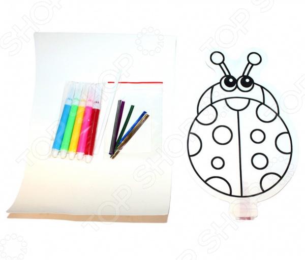 Раскраска надувная Bradex «Божья коровка» Раскраска надувная Bradex «Божья коровка» /