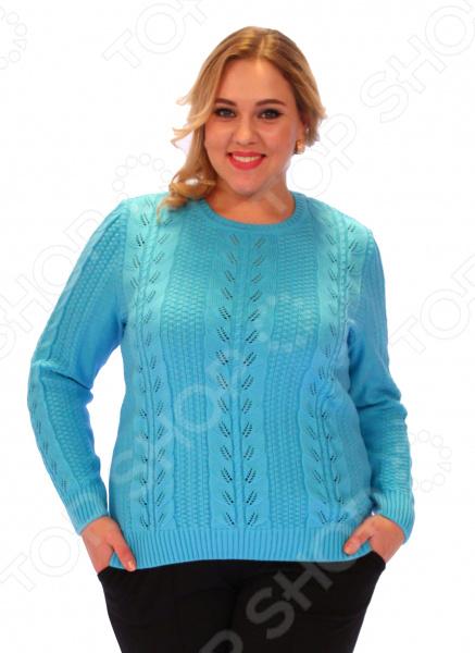 Джемпер Milana Style «Нимфа». Цвет: голубой