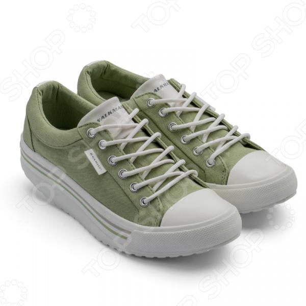 Кеды Walkmaxx Comfort 2.0. Цвет: светло-зеленый