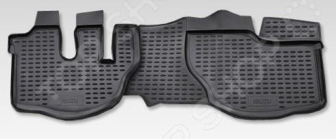 Комплект ковриков в салон автомобиля Novline-Autofamily ISUZU NQR71 2005 комплект ковриков в салон автомобиля novline autofamily land rover range rover sport 2005 цвет бежевый