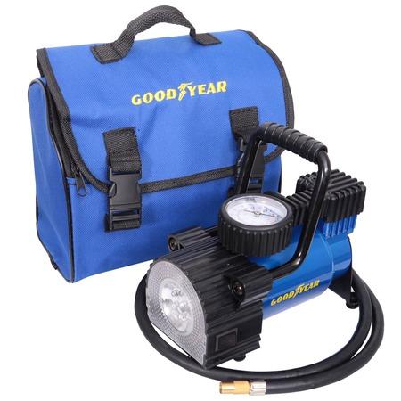 Воздушный автомобильный компрессор Goodyear GY-30L LED