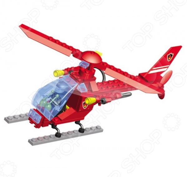 Конструктор игрушечный SuperBlock Авиация. Вертолет занимательная развивающая игрушка. Помимо того, что ребенок весело будет проводить свободное время, он сможет развить некоторые свои навыки и узнать много нового. Благодаря конструктору, ваш малыш познакомиться с основами построения различных моделей. Сама конструкция выполнена из экологически чистого пластика и абсолютно безопасна для ребенка. Конструктор собирается в модель вертолета из 84 деталей. При желании, вы можете помочь ребенку на начальном этапе знакомства с методом сборки. Также, в наборе есть подробная инструкция, с помощью которой дети легко смогут собрать воздушное судно. Стоит также обратить внимание на то, что детали набора совместимы с конструкторами других марок, в том числе и со всем известным Lego. Приобретая конструктор вы приобретаете целый мир для развития фантазии и мелкой моторики! Продукт рекомендуется для игры детям от шести лет и старше. В наборе содержится очень много мелких деталей, которые дети помладше могут проглотить. Ваш ребенок, мальчик или девочка, с энтузиазмом примут нового друга в свои игры.