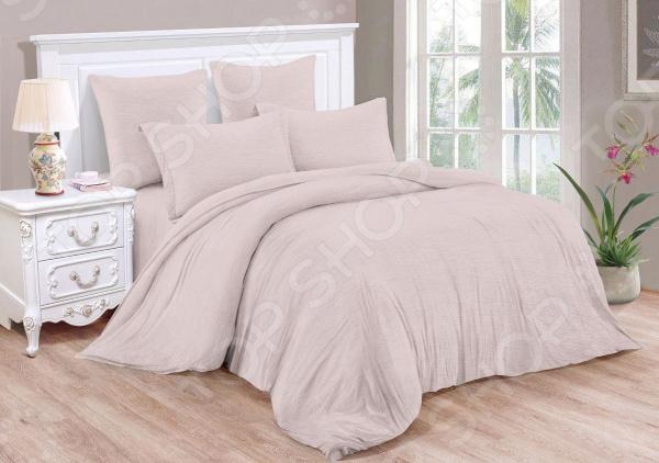 Комплект постельного белья Cleo Pastel Symphony 040-PT комплект постельного белья 1 5 спальный la pastel цвет мультиколор