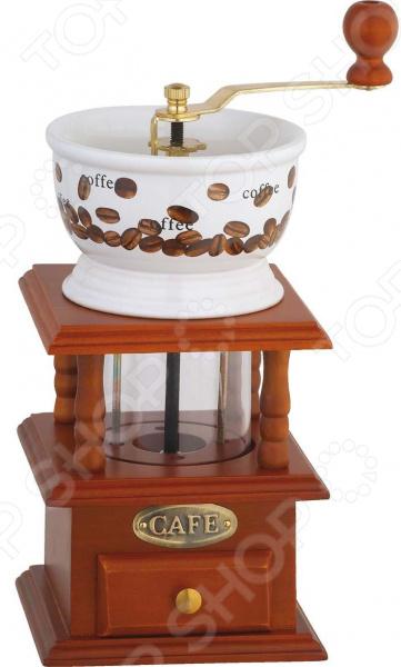 Кофемолка механическая Bekker BK-2528 кофемолка bekker bk 2528