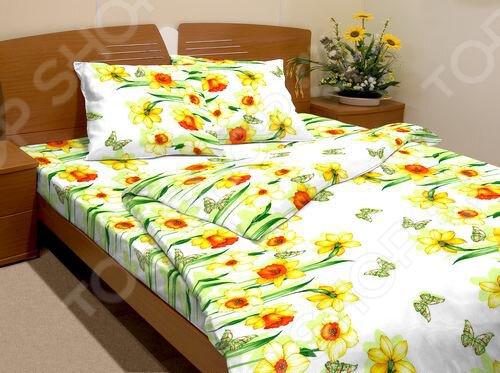Комплект постельного белья Fiorelly «Весенний денек» 3169-1. Семейный