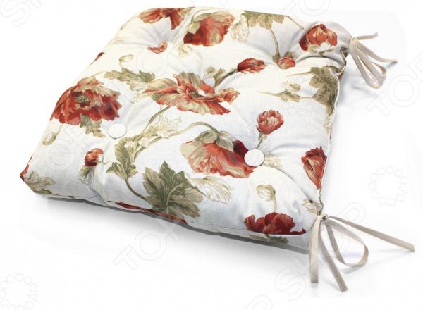 Подушка на стул Kauffort Campina йогурт campina нежный с соком вишни 1 2%