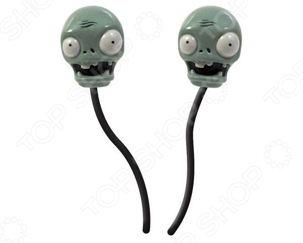 Наушники-вкладыши Jazwares Plants vs Zombies earbuds ea plants vs zombies garden warfare