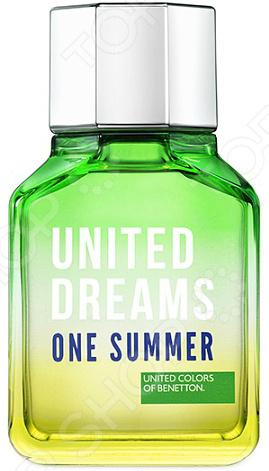 Туалетная вода для мужчин Benetton Ud One Summer, 100 мл туалетная вода clean summer sailing объем 60 мл
