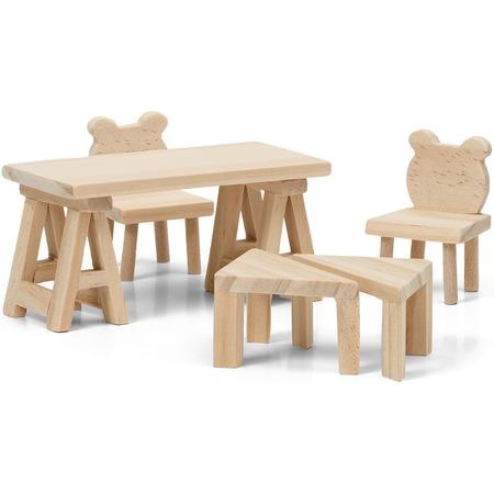 Купить Набор мебели для куклы Lundby «Стол и стулья»