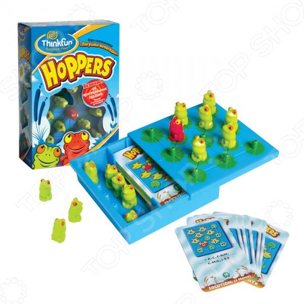 Игра-головоломка Thinkfun «Лягушки-непоседы» Hoppers
