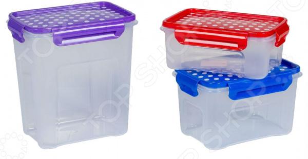 Набор контейнеров для СВЧ Полимербыт SGHPBKP108