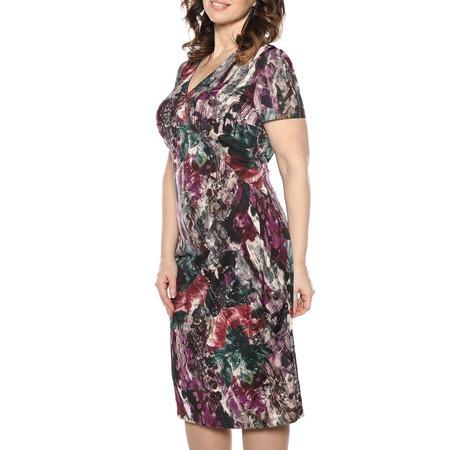 Купить Платье La Via Estelar «Цветочный пейзаж». Цвет: сиреневый
