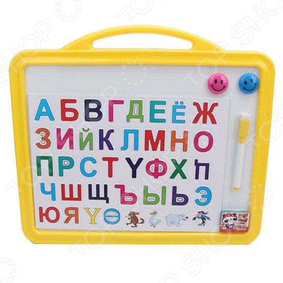 Доска для рисования магнитная Наша Игрушка «Русский алфавит»