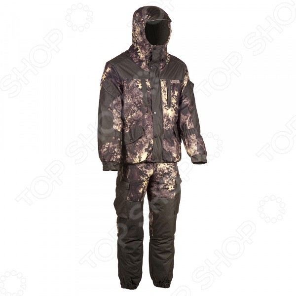 Костюм для охоты и рыбалки зимний Huntsman «Ангара». Цвет: хаки