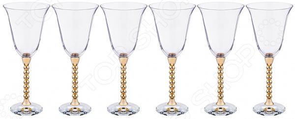 Набор бокалов для вина Claret 661-051 набор бокалов crystalex ангела оптика отводка зол 6шт 400мл бренди стекло