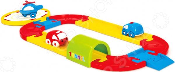 Набор игровой для мальчика Dolu «Круговая дорога с машинками» игровой набор dolu круговая дорога с машинками dl 5049